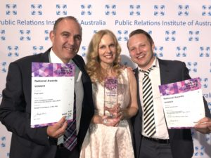 Agency owners Paul, Kirsten & QLD Branch Manager, Mark